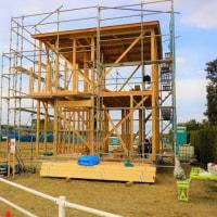 ちょっと良い貸家プロジェクト!『 岬町中原のリノべ風?な貸家 』。は本日、無事上棟完了!!しました。
