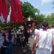 臼杵祇園祭にて人生初の神輿を担いできました