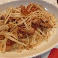 白身魚パン粉焼き&豚バラもやし&枝豆豆腐