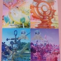 2873  (・´`(◆)   ディズニーシー15周年グッズ 【9】 フィナーレ 実写クリアホルダーセット