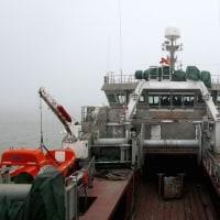 アイスランド漁船 中国での海上公試