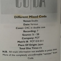 ZEP different mixed coda