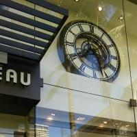 街中の時計