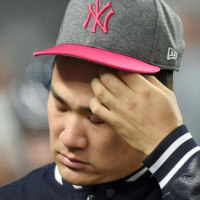 田中、最多8失点で2敗目 青木は無安打
