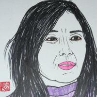 似顔絵シリーズ 第540回 奥貫 薫さんの4弾目!