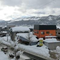 みちのくの冬2017-1/16~ : 今年初めての雪下ろし