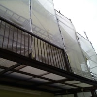 外壁塗装とワンコ