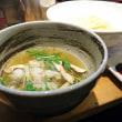 ラーメン巌哲@早稲田 「創作塩つけ麺(鱧と松茸)」