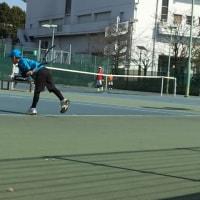 第33回エレンタリーテニストーナメント4年生の試合に行って来ました!
