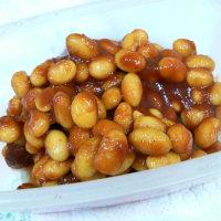 トマトカレー大豆