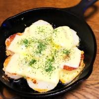 昨日の夜ご飯は、長芋のチーズのせ焼き