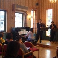 081116南花台キリスト教会にてユーオーディアのクラッシックコンサート♪