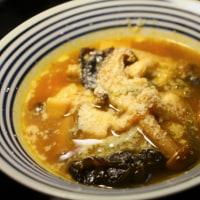 茸のトマトスープ
