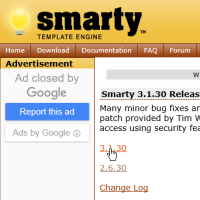 Smarty-phpのテンプレートエンジン