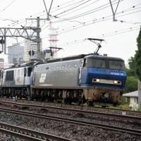 今日の2077レは EF200牽引ムド(EF64)付き