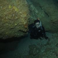 タナさんと青の洞窟