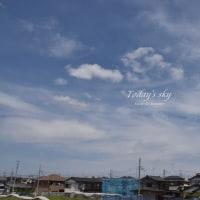 空に花添えて・・・ ~4月のToday's sky~