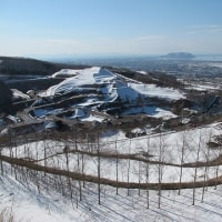 雪の七飯岳