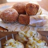 コーンパンとカレーパンに餡ドーナツ