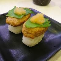 かっぱ寿司の和風ハンバーグ