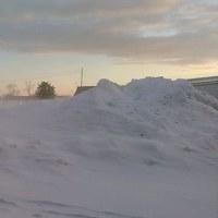 2月 冬晴れの朝