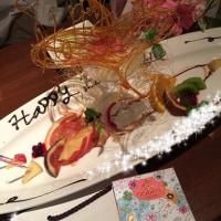 サプライズ誕生日  感涙。 友達、親友の優しさ、温かさが沁みました。本当にありがとう。
