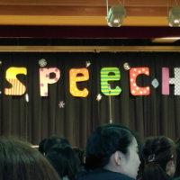 みーちゃん英語のスピーチ発表会!