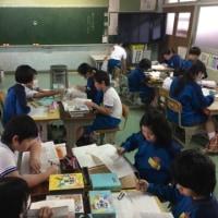 豊川小学校との交流学習(5.6年生)