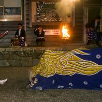2015年元旦 藤白神社の獅子舞