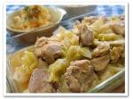 炊飯器で~ハワイ風鶏肉とキャベツの蒸し焼き