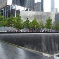 9・11 記念館で まき塩 周辺騒然 !!