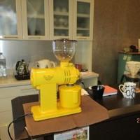 キュートな電動コーヒーミル