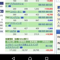 ホットケーキ 1/13の株の結果