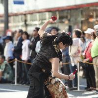 襲雷舞踊団 … 第11回銀座柳まつり 2016 - 2