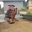7月27日(木)駐車場拡張工事