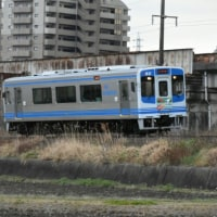 3/25 伊勢鉄道開業30周年記念ヘッドマーク付き イセ101