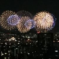 夏だ〜花火だ〜。