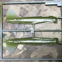 ハセガワ1/72 二式水戦製作記 その1・製作開始