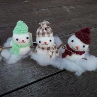 Bikkeさんの冬は雪だるま!あったか膝掛けとマフラーと色々なポケットティッシュケース♪