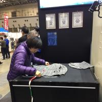 クリーニング総合展示会 (^o^)
