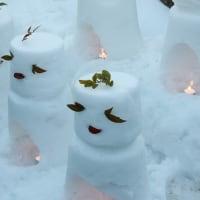 美山の雪灯廊へ~♪