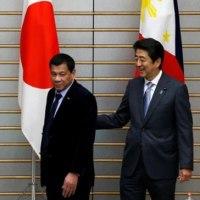 南シナ海問題「日本の側に立つ」、ドゥテルテ氏が安倍首相と会談・・・親日だから