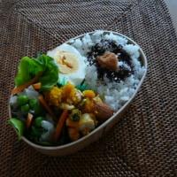 お弁当(野菜いっぱいロメインレタス巻きシュウマイ)