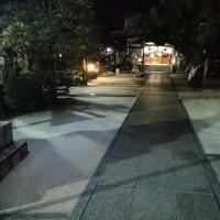 芦屋神社も雪化粧ですわ!