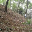 2017年7月16日 滝山城跡下草刈り 「小宮曲輪の堀は薄暗く気味悪いのだ」