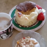 🐵 スフレパンケーキ