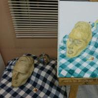 絵画教室  第2年度 5回目  waterpainting class