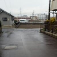 2/23 雨です