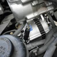 エルフ12V車のオルタネーターを交換!