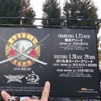 Guns N' Roses Japan Tour 2017 (Not In This Lifetime Tour) at Osaka